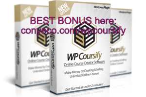 WP Coursify Review Bonuses – Launch Unlimited Sites Selling Online Courses
