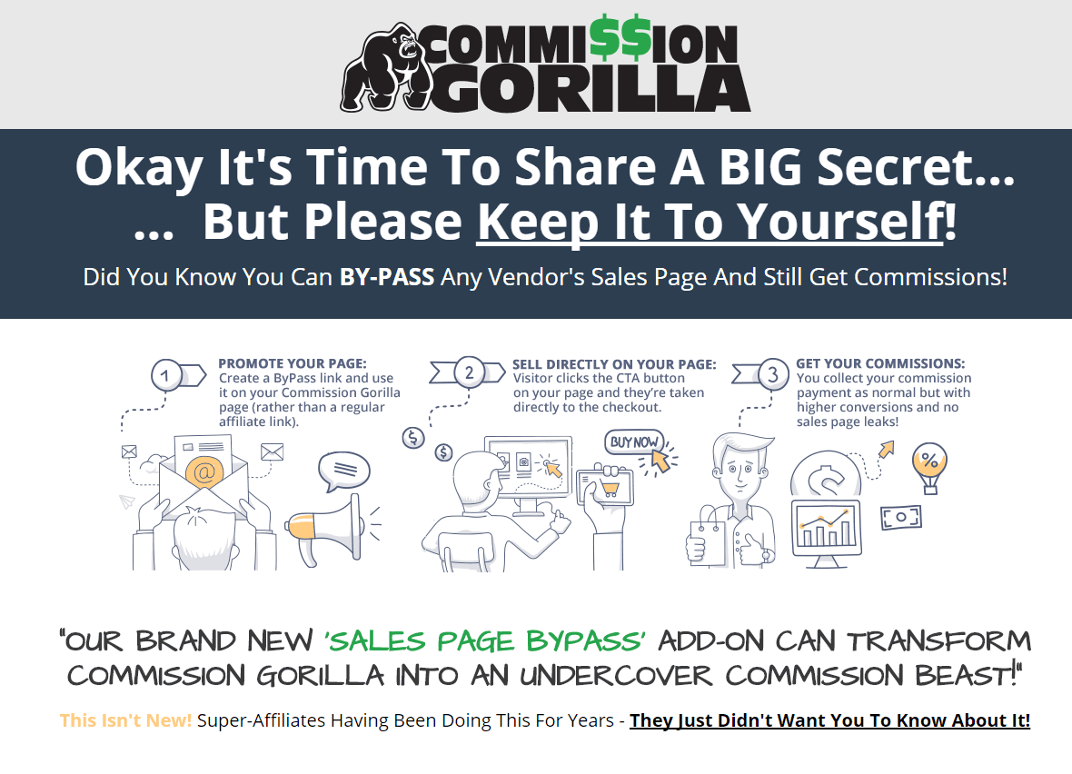Commission-Gorilla-V2-Review-Bonuses-conyeco.com-LanzaPodcast-LucasValera-6-Sales-Page-Bypass-Add-On